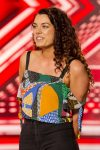 This image is strictly embargoed until 00.01 Saturday 27th August 2016  From Thames / Syco Entertainment  The X Factor: TX01 on ITV  Pictured: Melissa Pedro.  This photograph is (C) Thames / Syco Entertainment and can only be reproduced for editorial purposes directly in connection with the programme or event mentioned above. Once made available by ITV plc Picture Desk, this photograph can be reproduced once only up until the transmission [TX] date and no reproduction fee will be charged. Any subsequent usage may incur a fee. This photograph must not be manipulated [excluding basic cropping] in a manner which alters the visual appearance of the person photographed deemed detrimental or inappropriate by ITV plc Picture Desk.  This photograph must not be syndicated to any other company, publication or website, or permanently archived, without the express written permission of ITV Plc Picture Desk. Full Terms and conditions are available on the website www.itvpictures.com  For further information please contact: shane.chapman@itv.com 020 7157 3043
